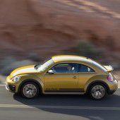 Bereit für die Dünen: VW bringt neue Beetle-Version