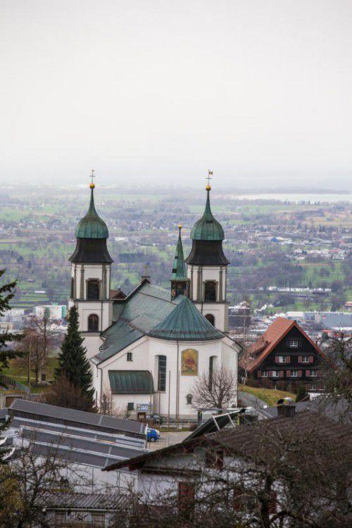 Die Bildsteiner Kirche wird bald saniert. Foto: VN/Hartinger