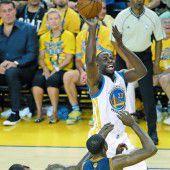 Zweiter Sieg für die Warriors im Finale der NBA