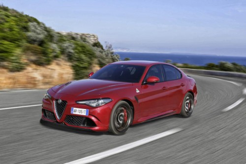 Mittel-, Oberklasse: Alfa Giulia kommt im Land gut an.