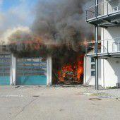 Schock nach Brand in Feuerwache