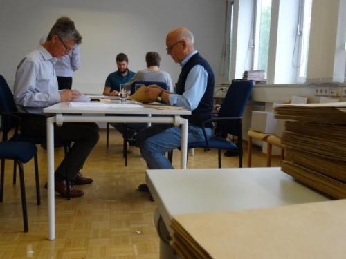 Auch die BH Dornbirn hatte nach der Wahl viel Arbeit.