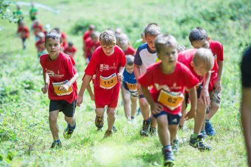 Auch die Jüngsten durften beim Montafon-Arlberg-Marathon schon mitlaufen.