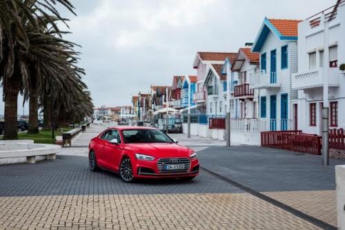 Audi A5, hier im S5-Kleid: Aufwertung eines stilistischen Meisterstücks.