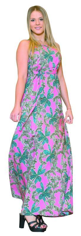 Chiara Etienne in einem langen Sommerkleid von Jones in Dornbirn: Gibt's um 149,99€.