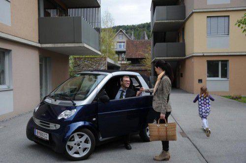 """Christian Steger-Vonmetz: """"In jeder größeren Wohnanlage sollen zukünftig Carsharing-eAutos vor der Haustüre stehen."""""""