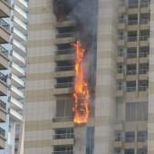Brandalarm im Sulafa-Tower