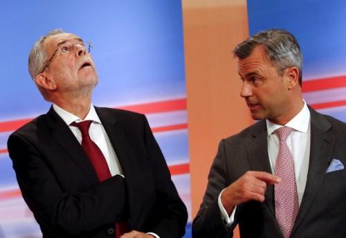 Das Höchstgericht hat entschieden: Die Bundespräsidentenstichwahl wird wiederholt. Van der Bellen (l.) und Hofer müssen nochmals einen Wahlkampf gegeneinander führen.