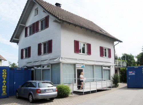 Das Hoferhaus ist das Ausweichquartier während des Umbaus.