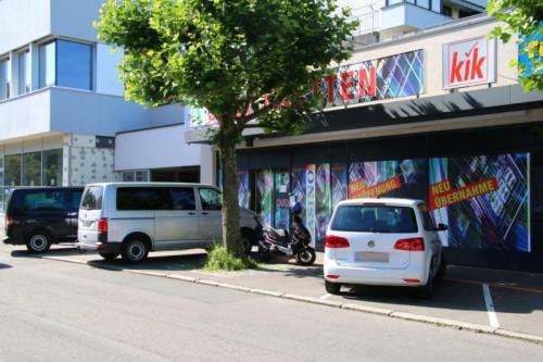 Das Wettlokal in der Bregenzer Mariahilfstraße wurde am Montagmorgen zum Tatort eines Raubüberfalls.