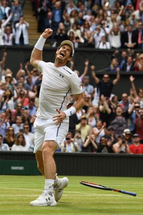 """Der Druck ist weg: """"Local Hero"""" Andy Murray hat die Erwartungen beim Heimturnier erfüllt."""