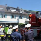 Brand über Bregenzer Pizzeria