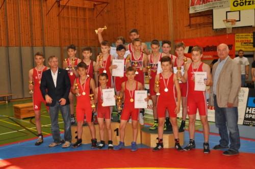 Der Ringer-Nachwuchs aus Vorarlberg zeigte bei der diesjährigen österreichischen Schülermeisterschaft groß auf.