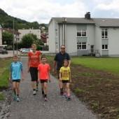 Trotz Baustelle auf sicherem Weg zur Schule