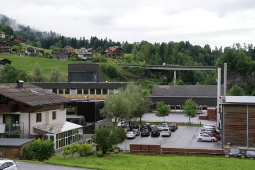 Die alte Mittelschule wird nach dem Bezirksmusikfest abgerissen.