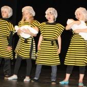 Volksschüler bezauberten mit einem Bienenmusical