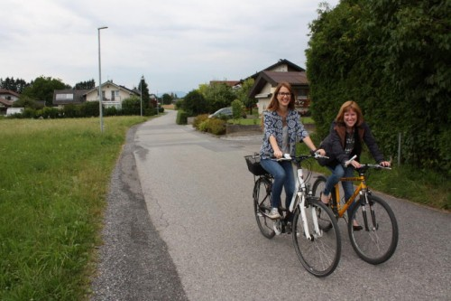 """Die Bleiche ist kein """"Schleichweg"""" für Stauflüchtlinge mehr, sondern eine Fahrradstraße."""