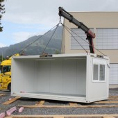 Containerschule in Thüringen schon abgebaut