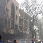 Transporter explodierte auf Markt in Bagdad