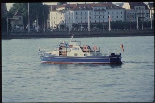 Die deutsche Wasserschutzpolizei konnte den Vorarlberger Kapitän stoppen.