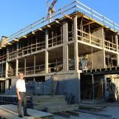 Großprojekt in Bezau im Bau