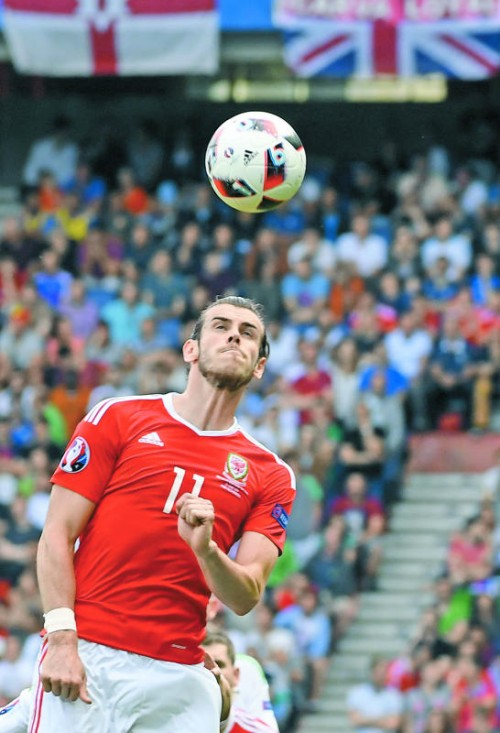 Die große Hoffnung der Waliser Fußball-Fans: Der bisherige EM-Top-Star Gareth Bale.