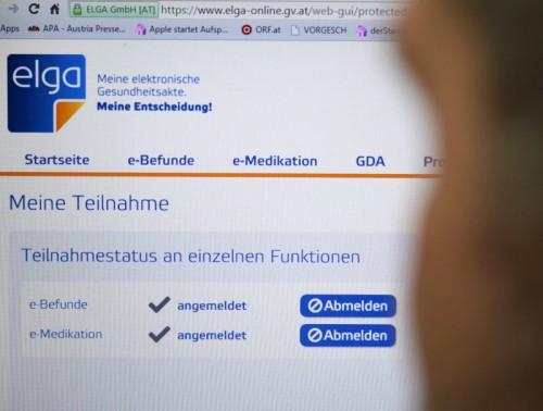 Die Umsetzung von ELGA wird vorangetrieben. Bisher haben sich 249.000 Patienten abgemeldet.