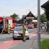Gasalarm in Dornbirn-Wallenmahd