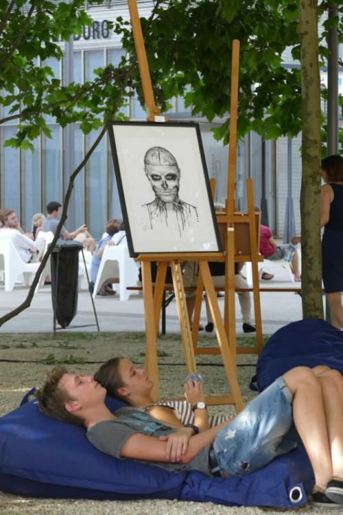 """Die """"Young Art Generation"""" hat sich zum Ziel gesetzt, die Vielfalt junger Kunst in Vorarlberg zu repräsentieren."""