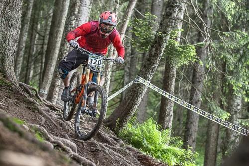 Downhillsport vom Feinsten gab es bei den ÖRV-Meisterschaft und dem IXS German Cup im Bikepark Brandnertal zu sehen.