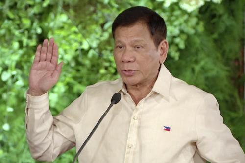 Duterte versprach ein hartes Vorgehen gegen Kriminalität.