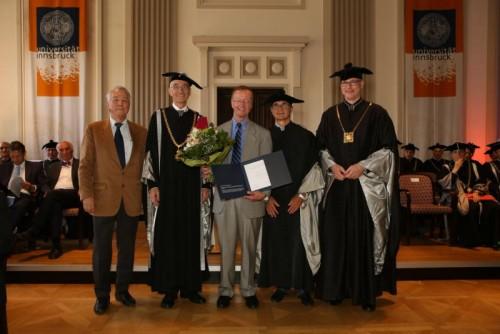 Ehrendoktorat für den Tamiflu-Erfinder Norbert Bischofberger.