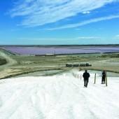 Riesige Berge aus Salz