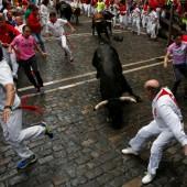 Pamplona: Amerikaner von Stier aufgespießt