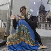 100 Roma als Bettler im Land