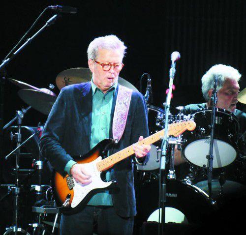 Eric Clapton hilft mit der Versteigerung einem Kollegen.