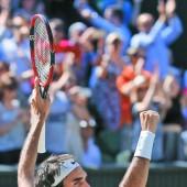 Dramatischer Sieg von Federer
