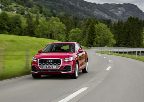 Erste VN-Testfahrten mit dem neuen Audi Q2: Kleines SUV zeigt sich von seiner agilen Seite.