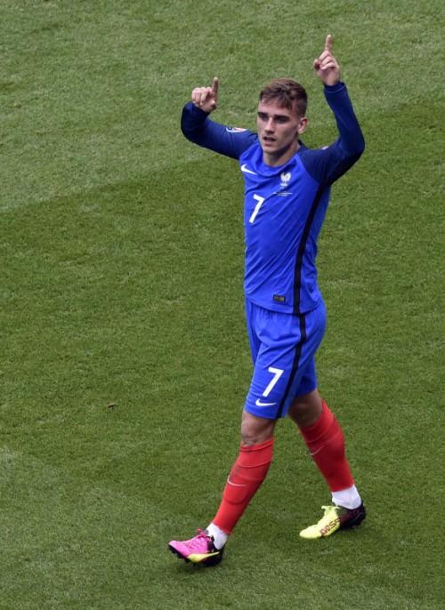 Erzielte bislang drei EM-Tore für Frankreich: Antoine Griezmann.