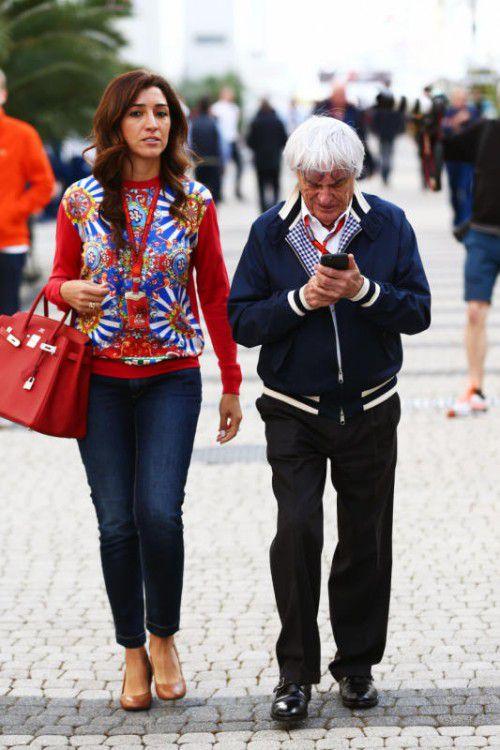 Fabiana Flosi ist die dritte Ehefrau des Formel-1-Zampanos Bernie Ecclestone, der aus vorherigen Beziehungen drei Töchter hat.