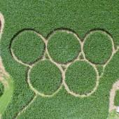 Olympia-Maislabyrinth