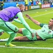 Ronaldo führt die Portugiesen ins EM-Finale
