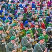 Konzert der Militärmusik als Dankeschön