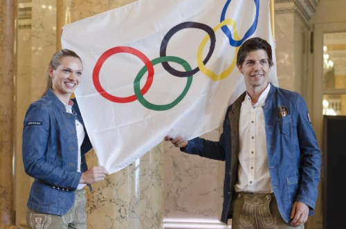 Die Badminton-Asse Elisabeth Baldauf und David Obernosterer sind zwei der zahlreichen Vorarlberger Spitzensportler, die im Sportgymnasium Dornbirn ihre schulische Reifeprüfung ablegten und anschließend zu Olympiaehren kamen.GEPA