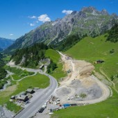 Straßenbau am Arlberg vor dem Zeitplan