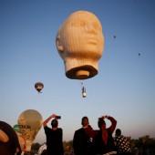 Festival der Ballone lockt Schaulustige