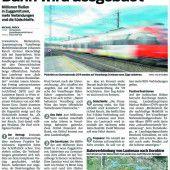 Bahnausbau in Vorarlberg