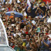 Große Begeisterung für Papst Franziskus in Polen