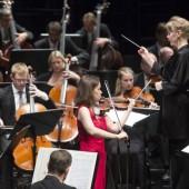 Ein Energiebündel am Pult und ein Naturereignis an der Geige