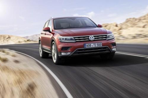 Fünf Sterne beim Crashtest für den VW Tiguan.